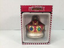 Mary Engelbreit Christmas Ornament Queen of Everything Crown Glass Kurt Adler