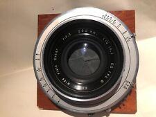 Kodak Wide Field Ektar 250mm 10 inch f6.3 for 8x10 11x14 #5 shutter large format