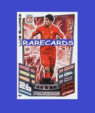 Match Attax Extra 2012 2013 Topps Hundred 100Club Card 12 13 LUIS SUAREZ
