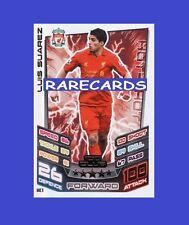 Match Attax Extra 2012 2013 Topps Hundred 100Club Card 12 13 LUIS SUAREZ