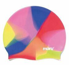 Maru- Multi Silicone Swim Hat- Multi-