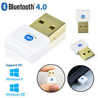 Bluetooth V4.0 USB 3.0 Mini Dongle EDR Adapter for PC Windows 7 Vista XP