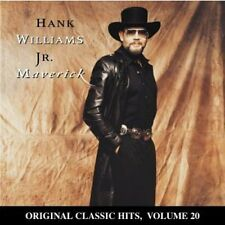 Hank Williams Jr. - Maverick (Original Classic Hits 20) [New CD] Manufactured On