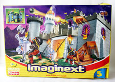 VERY RARE 2002 FISHER PRICE IMAGINEXT BATTLE CASTLE KNIGHTS NEW SEALED MISB !