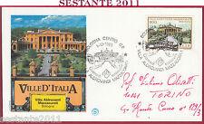 ITALIA FDC FILAGRANO VILLE VILLA ALDROVANDI MAZZACURATI 1985 BOLOGNA Y894