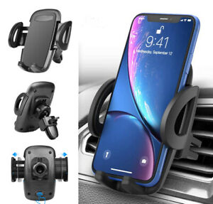 Car Phone Mount Holder Adjustable Clip Car Air Vent Holder Cradle For Cell Phone