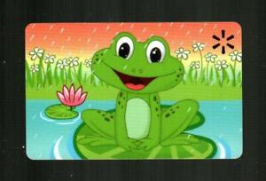 WALMART Frog Sitting on Lily Pad 2021 Gift Card ( $0 )
