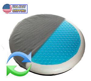 360 Swivel Rotating Car Seat Cushion Orthopedic Gel Memory Foam Easy In Out  TV
