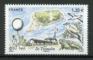 France Stamps 2019 MNH Ile Tromelin Island Birds Turtles Architecture 1v Set