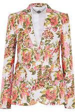 Stella McCartney Neon Floral Jacquard Jackets Size 42