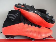 NIKE MERCURIAL SUPERFLY V FG ID TOTAL CRIMSON-BLACK SZ 11.5 [845894-997]