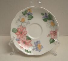 "Pretty Johnson Bros of England Saucer ""Orchid Splendour"" Excellent Condition"