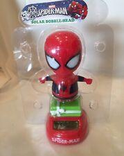 Spider-Man Spiderman Solar Bobble Head Christmas  Marvel New