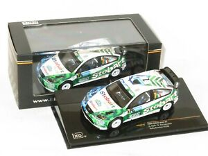1/43 Ford Focus RS `07 WRC  Stobart  Rally Sweden 2008  #7 G.Galli