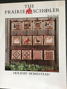 The Prairie Schooler  ✳️ HOLIDAY HOMESTEAD  ✳️ Original Cardstock
