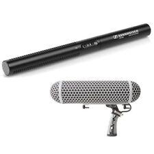 Sennheiser MKE 600 Shotgun Microphone with Rode Blimp Windscreen
