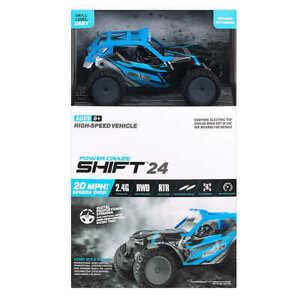 Power Craze Shift 24 Mini RC, High Speed Buggy - Blue NEW