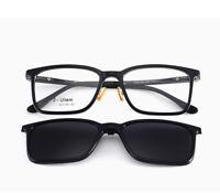 Clip On Polarized Sunglasses Magnetic Eyeglass Frames RX Glasses Eyewear β-Ultem
