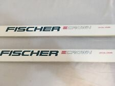 Fischer Crystal Crown White Crown Base Downhill Cross Country Skis Local Pickup