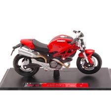 DUCATI MONSTER 696 RED 1:18 Maisto Moto Die Cast Modellino