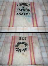 Ancient mailbag 1944 Spanish Postal / Antigua saca de Correos de 1944. VINTAGE