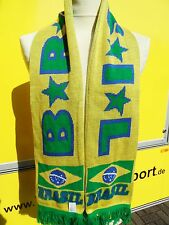 Fanschal BRASIL Brasilien Fanschal Schal mit Wappen