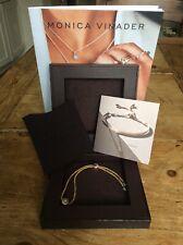 Brand New Boxed Monica Vinader Linear Solo Friendship Diamond Bracelet SPACE NK
