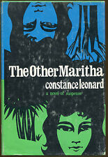The Other Maritha by Constance Leonard-First Edition/DJ-1972