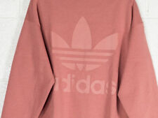 Cd6920 Felpa adidas – Sweatshirt Rosa/bianco 2018 Donna Policotone NUEVO 42 S (small) Non applicabile