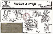 Royal Model 1/35 Buckles and Straps Set [Photo-etch Accessory for Figures] 040