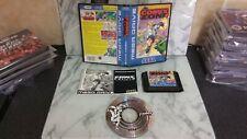 Comix Zone Sega Mega Drive Game With Manual And Music CD 'Roadkill'