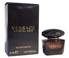 Mini Miniature Versace Crystal Noir  Woman Travel Perfume 5ml EDT