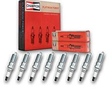 8 pc Champion 3570 Platinum Spark Plugs RE14PMC - Pre Gapped Ignition dk