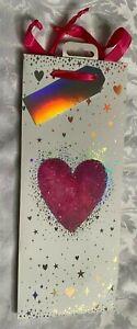 LOVE HEART BOTTLE GIFT BAG
