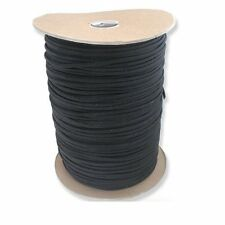 NEW 1000 Foot Black Parachute Cord Paracord Type III Military Specification 550
