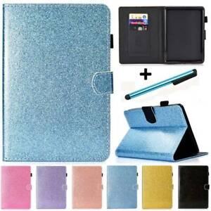 For Amazon Kindle Paperwhite 1 2 3 4 5th 6th 7th 10th Smart Glitter Case Cover