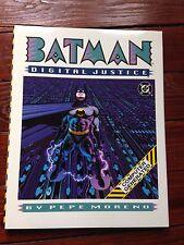 Batman Digital Justice 1990 hardcover Pepe Moreno