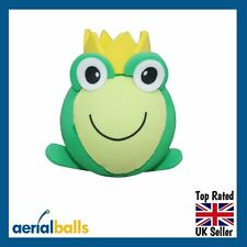 SALE...Frog Prince Charming Green Toad Car Aerial Ball Topper