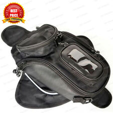Motorcycle Magnetic Oil Tank Bag Storage Organizer Phone Holder Pocket Pouch