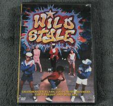 Wild Style -Rhino DVD Fab 5 Freddy- Lady Pink