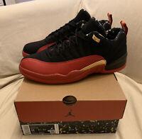 Nike Air Jordan 12 Low Black Red Superbowl Brand New Size 11 Ships Asap