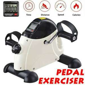 New Mini Exercise Bike Pedal Exerciser Gym Fitness Workout Hand Foot Bicycle