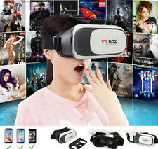 3D VR BOX VIRTUAL VIDEO ACTIVE REALITY GLASS HEADSET BLUETOOTH HELMET GOGGLES