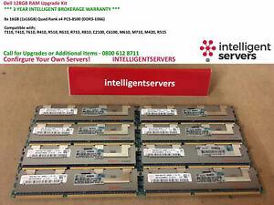 DELL 128GB RAM Upgrade - T410 T610 T710 R610 R710 R510 R410 R810 M610 R515