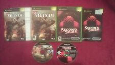 CONFLICT VIETNAM & SECOND SIGHT BUNDLE  MICROSOFT XBOX 16+ PAL