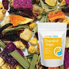 Dragonfruit Ginger Herbal Tea - Premium Loose Leaf - Fusion Teas