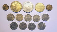 Lot of 14 Vintage Casino Gaming Tokens