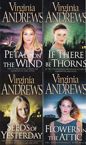 Flowers in the Attic Virginia Andrews 4 Book Set Dollanganger Family series