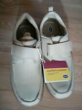 Dr. Scholl's Leather shoes Men's size 12 Wide casual adjustable strap