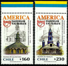 CHILE, UPAEP, CHURCHES OF CHILOÉ, MNH, YEAR 2001